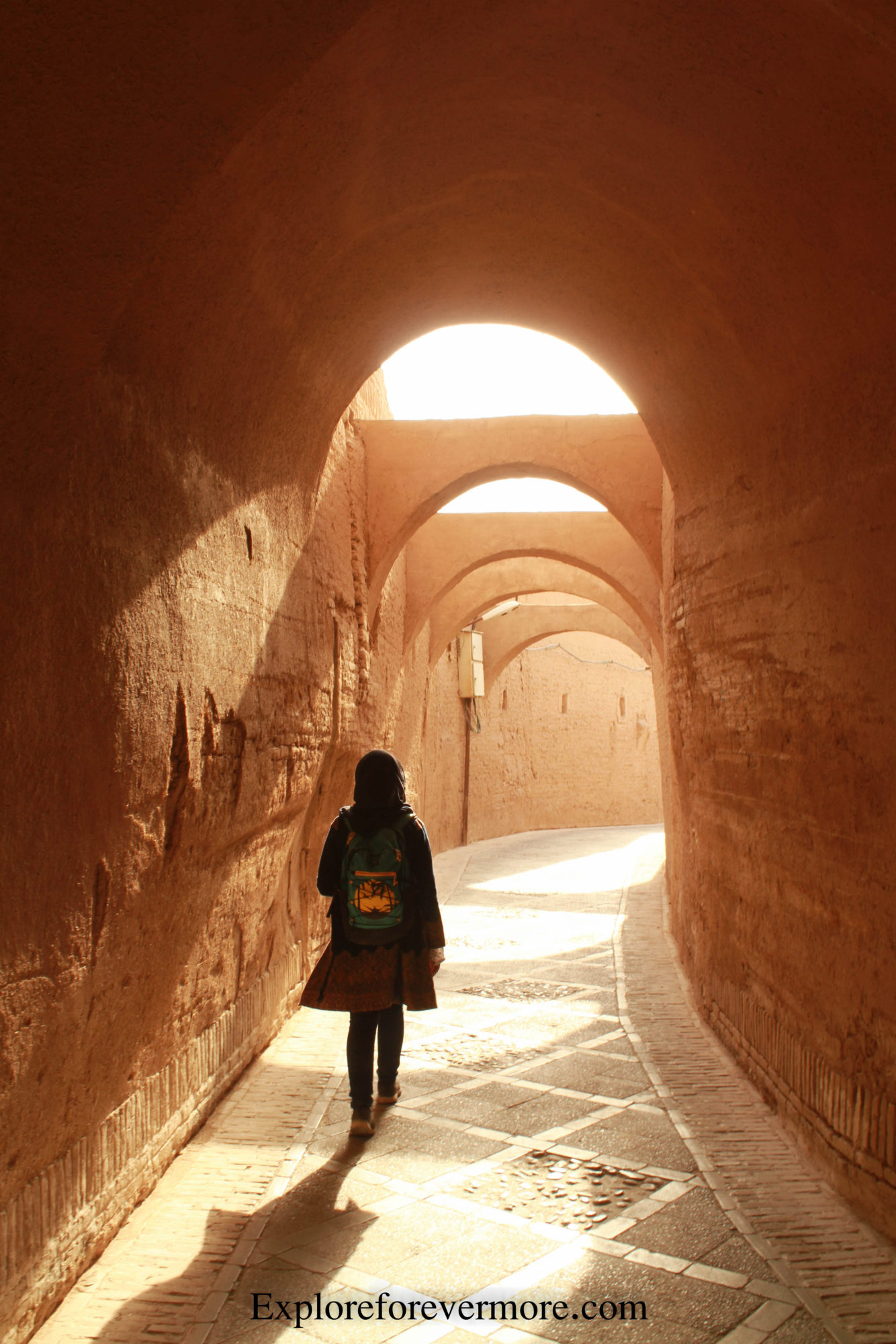 Wandering through the city of Yazd