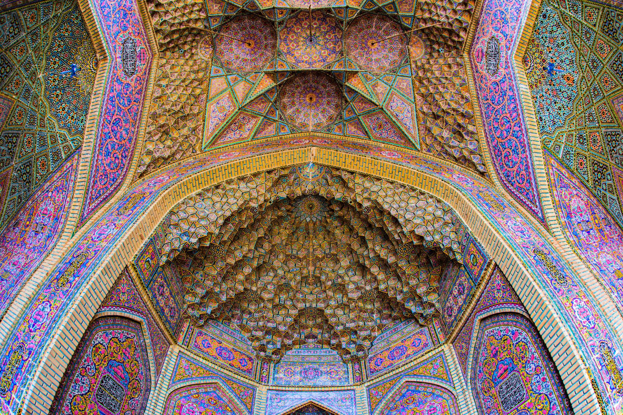 Nasir-al-Mulk, Visit Iran