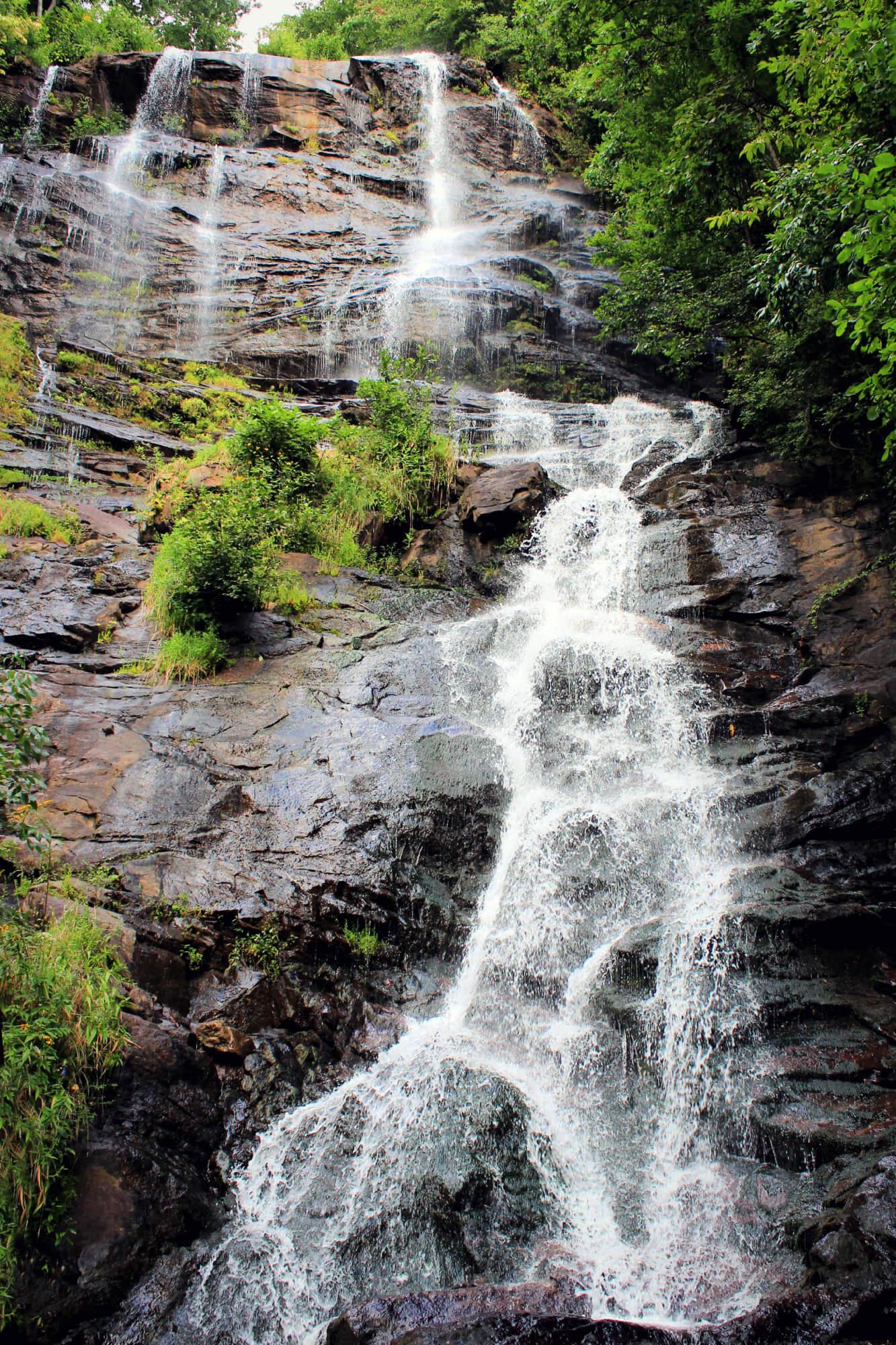 Amicalola Falls, the highest waterfall in Georgia
