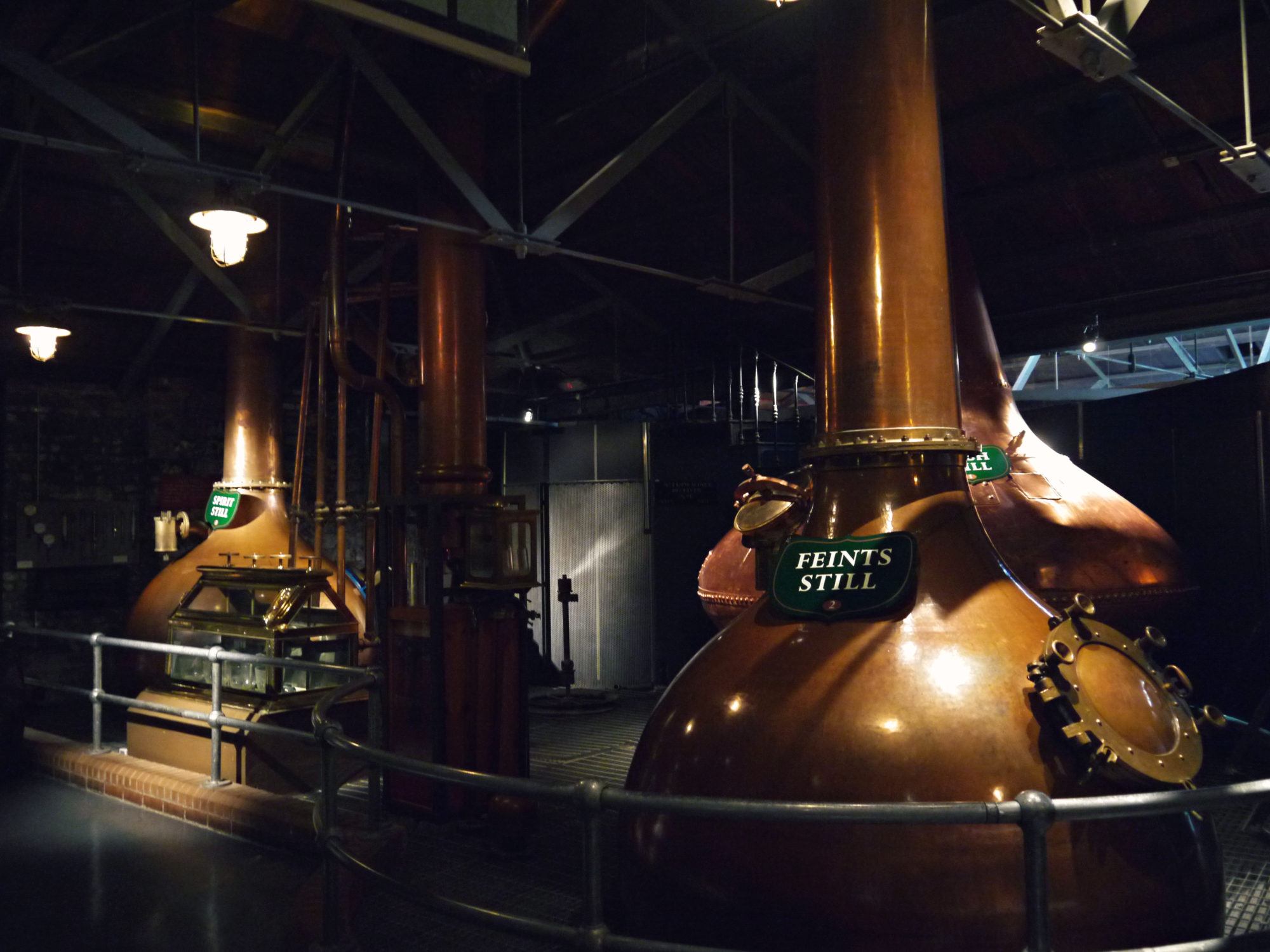 Feints Still, Jameson Whiskey Distillery in Dublin, Ireland