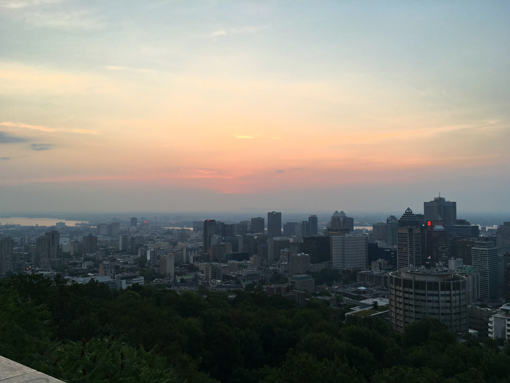 Sunrise From Mont Royal