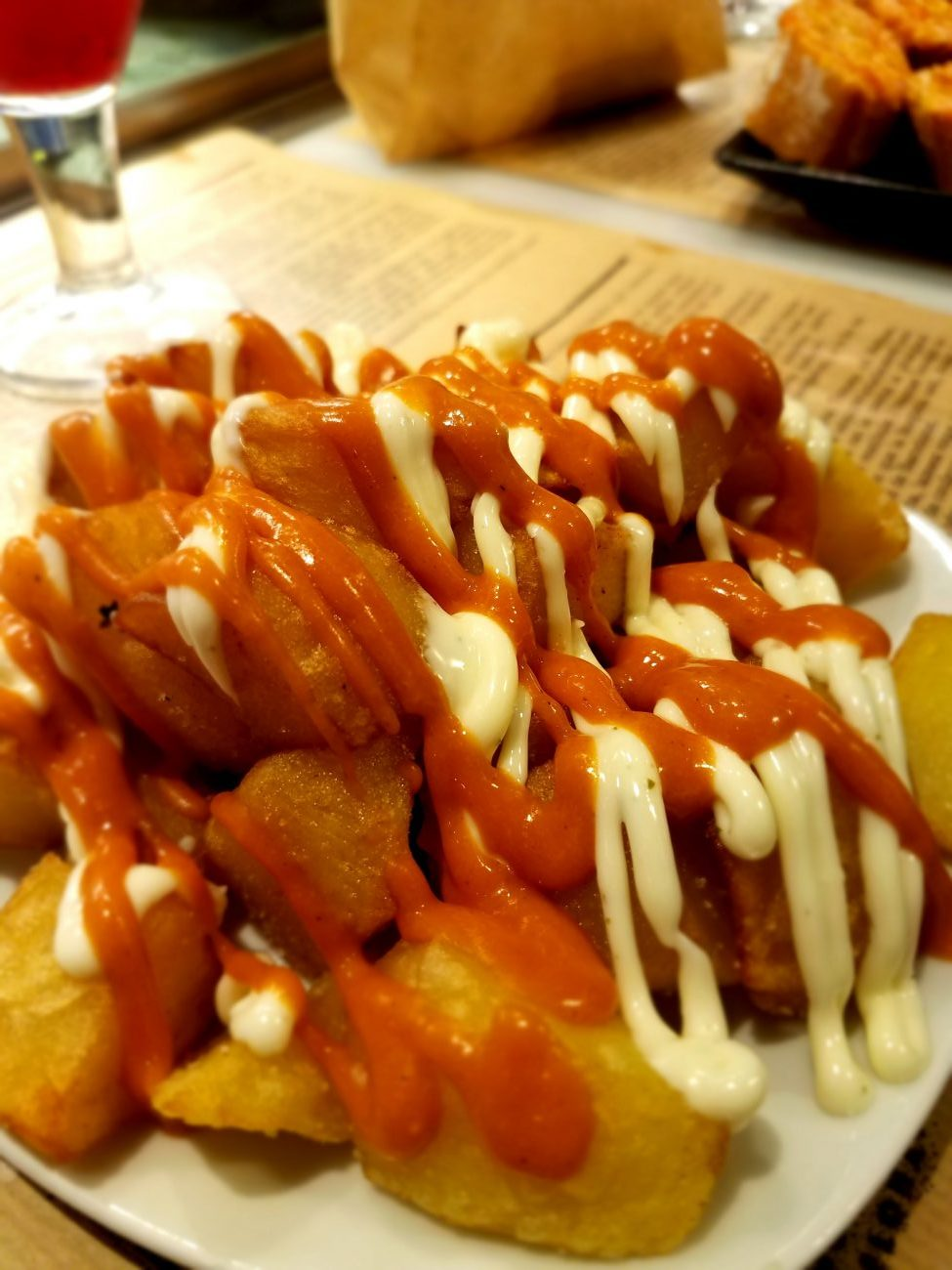 Papes Bravas in Spain