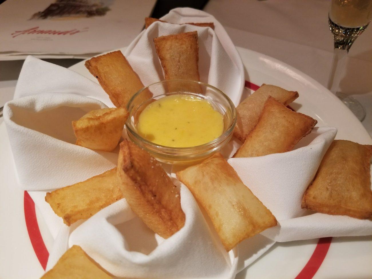 Pommes Souffles at Arnaud's