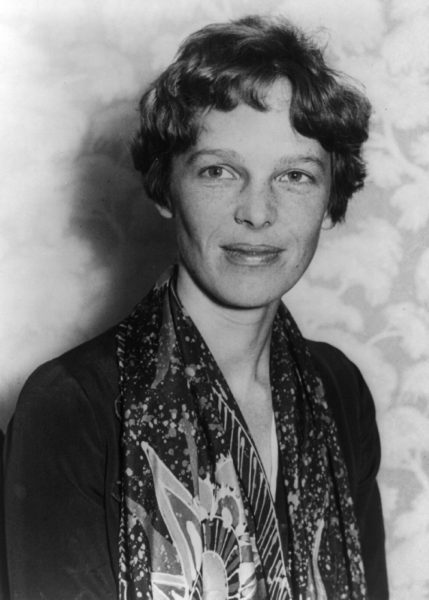 The legendary American aviation pioneer, Amelia Earhart, whose disappearance still puzzles the world to this day