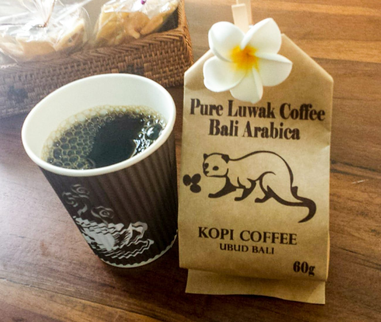 Civet Cat Coffee in Indonesia