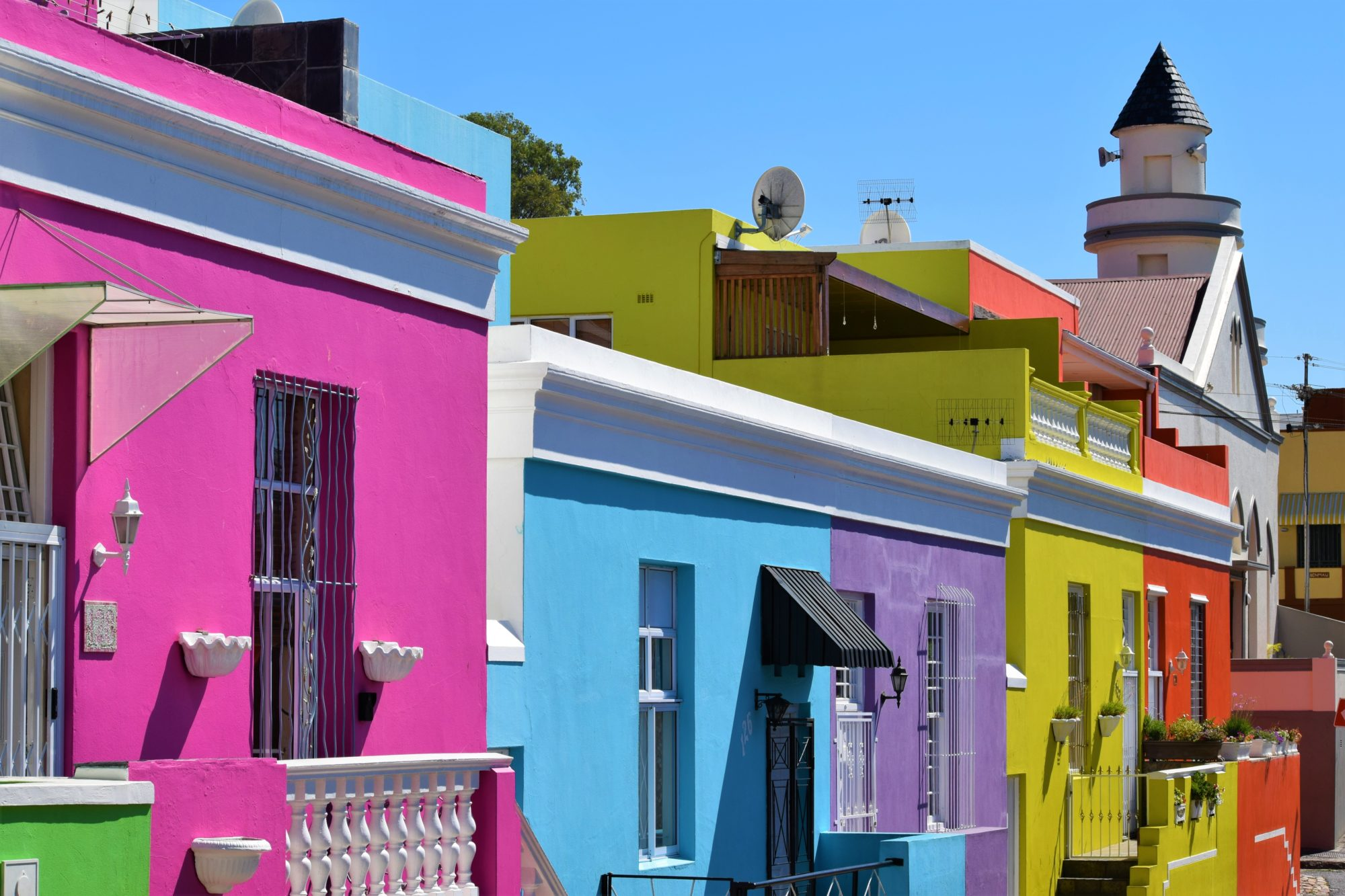 Bo-Kaap in Cape Town, South Africa