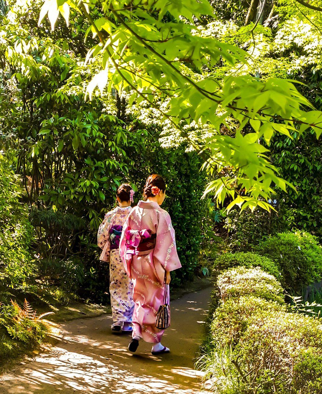 Heian Garden Women