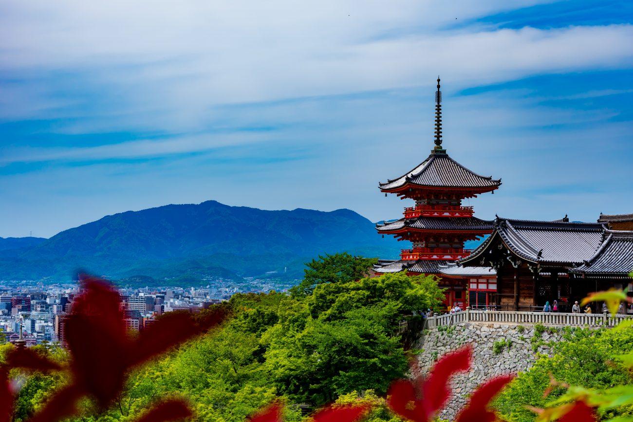 Kiyomizu from a distance