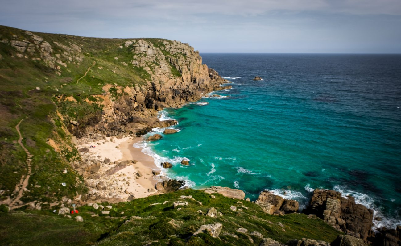 Porthcurno and the Minack, Cornwall