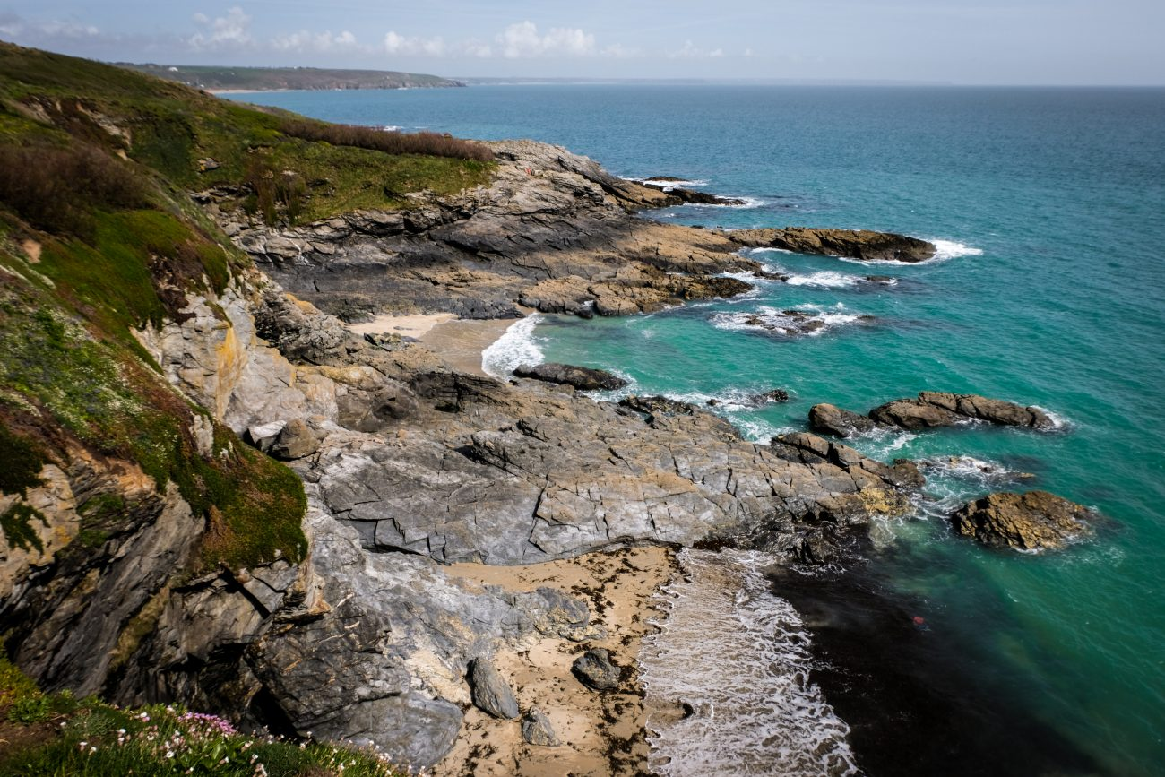 Prussia Cove and Mount's Bay, Cornwall
