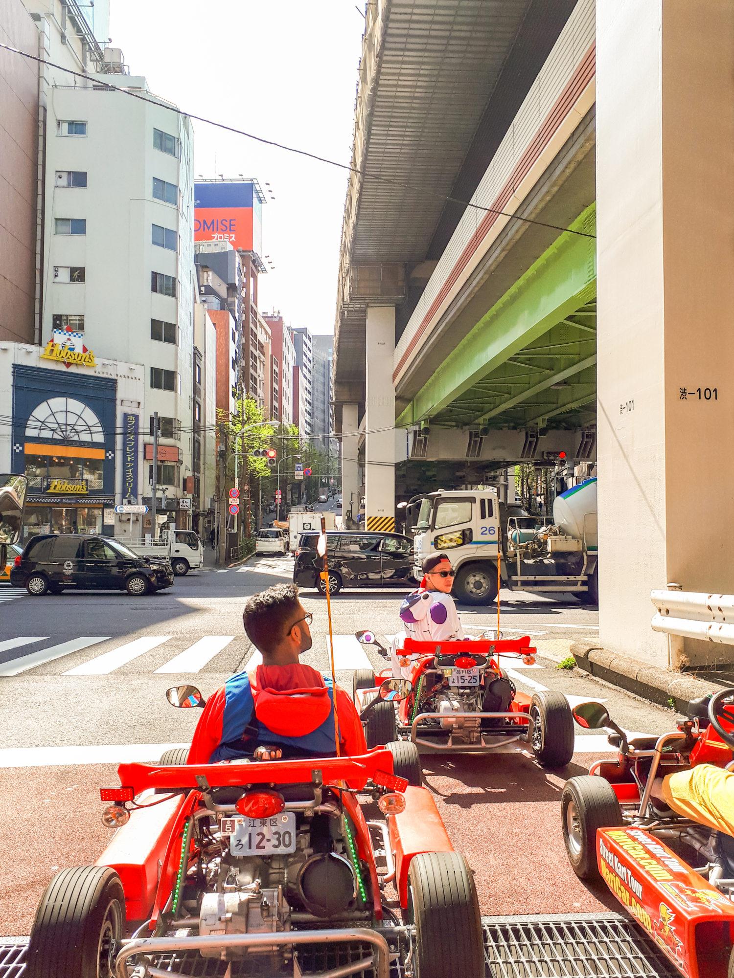 Real Life Mario Kart, Roppongi