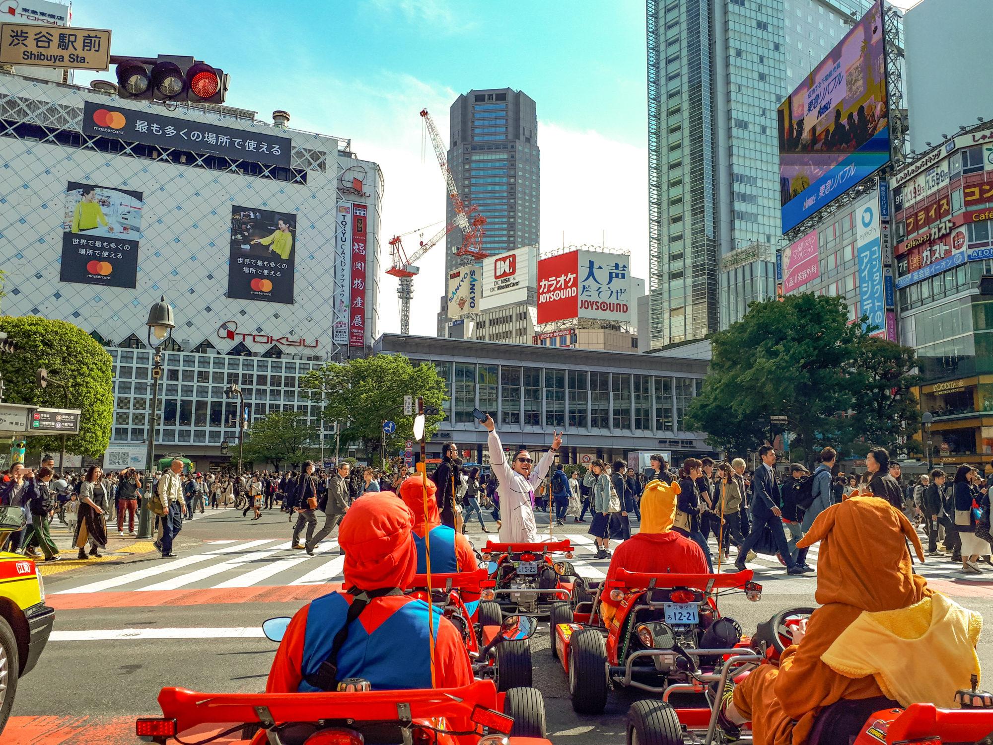 Real Life Mario Kart, Shibuya