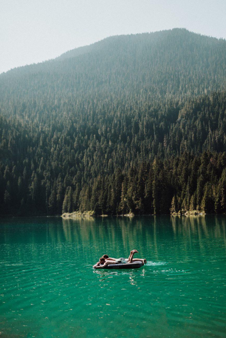 Relaxing in Canada