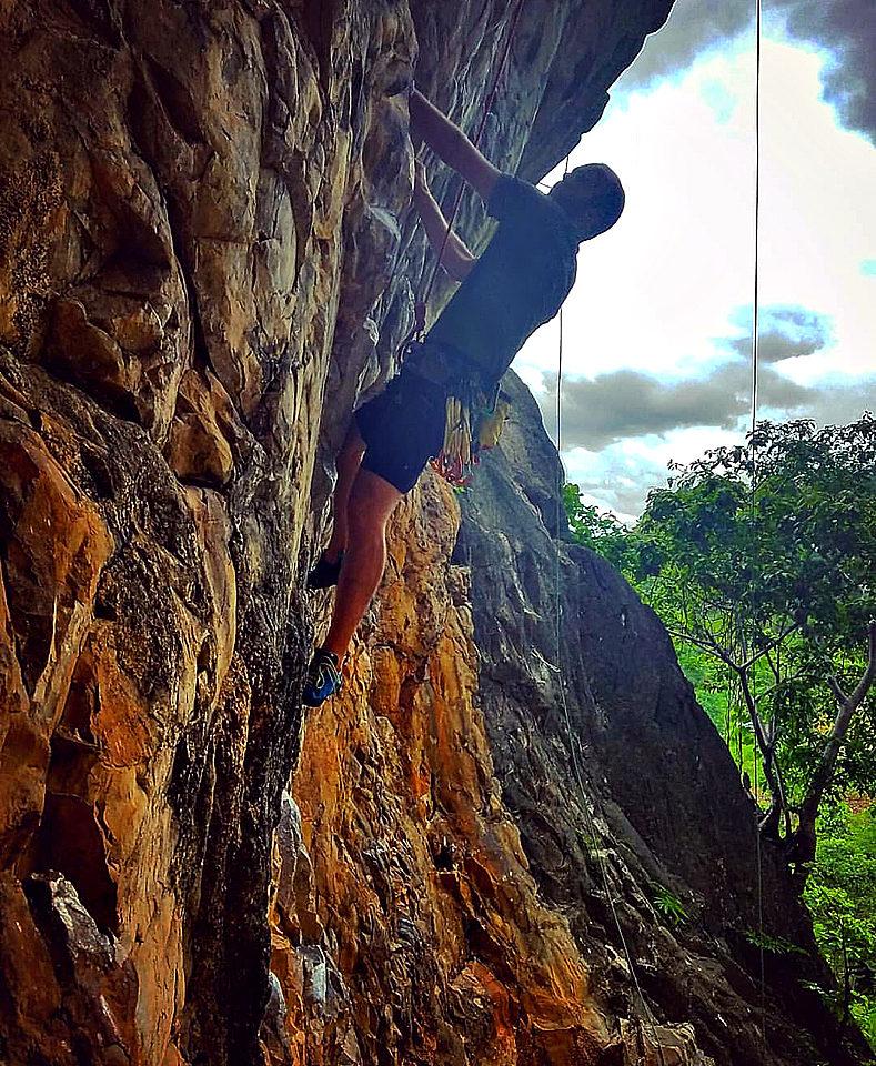 Crazy Horse Climbing