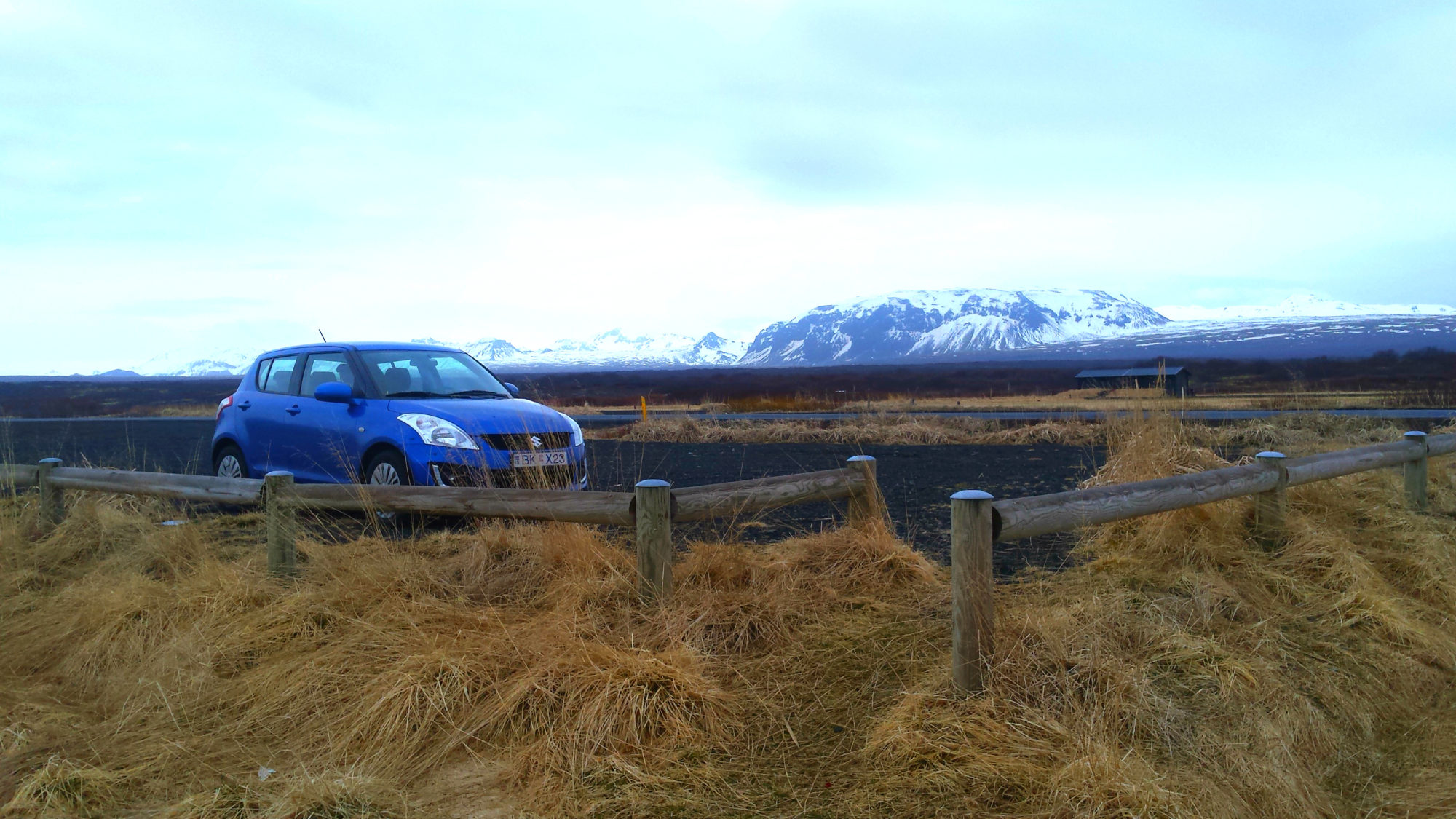 Save money sleeping in my car in Iceland