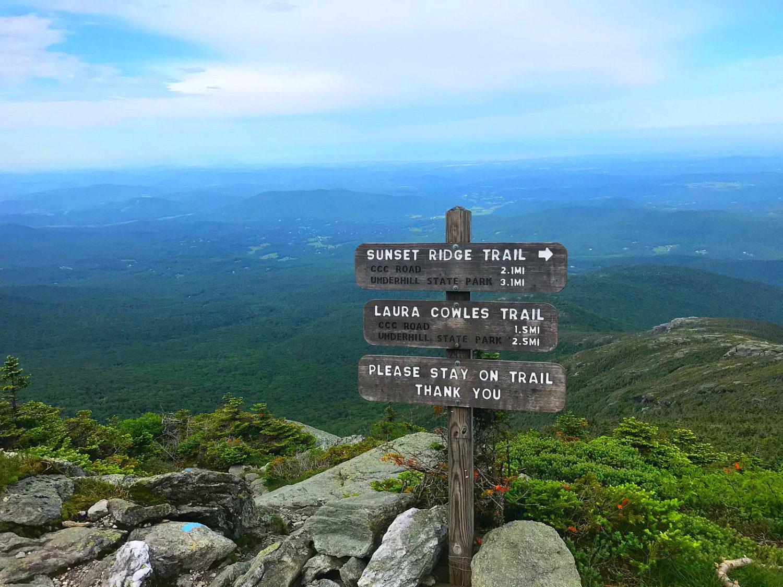 Sunset Ridget Trail Burlington, Vermont