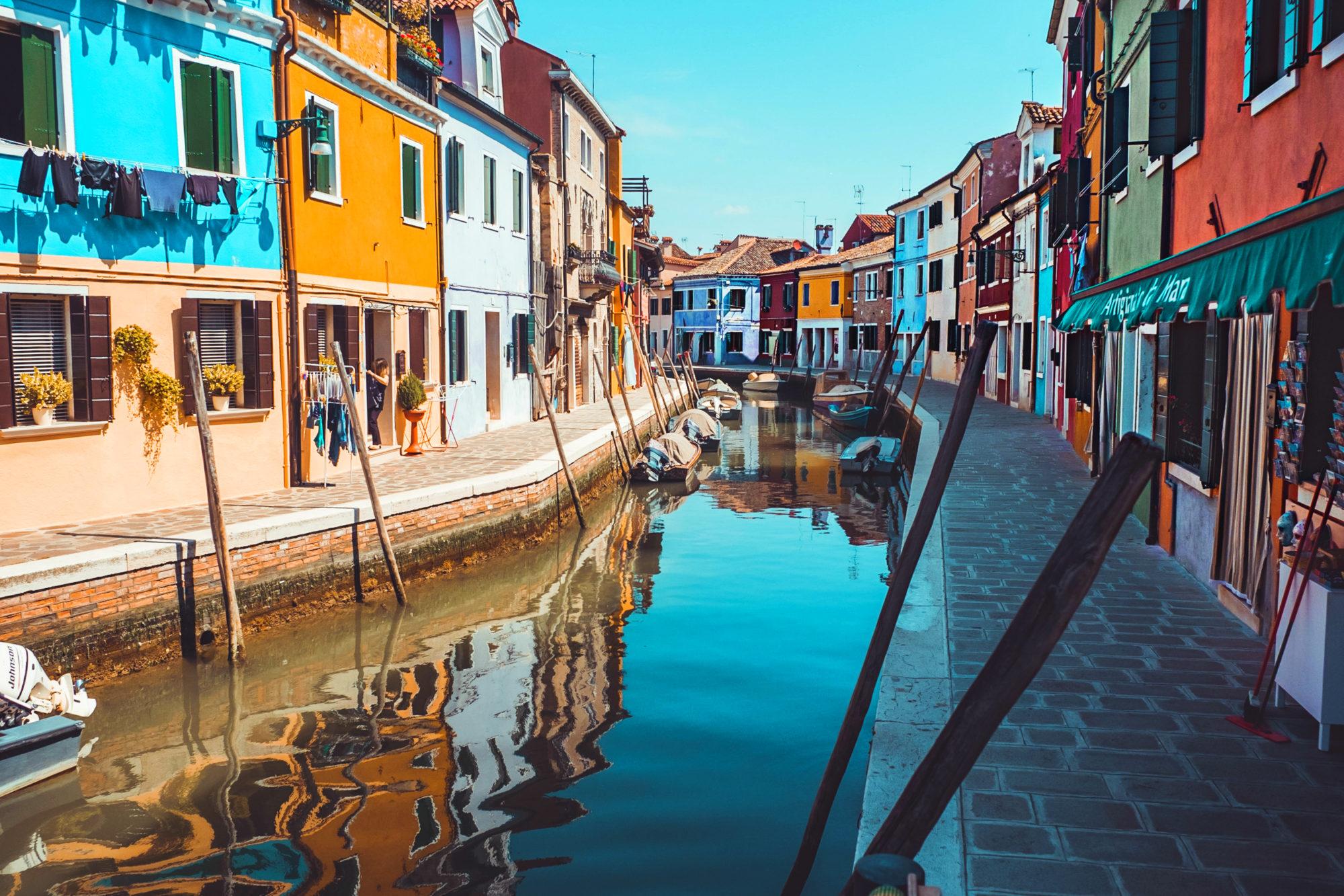Burano, Venice in Italy