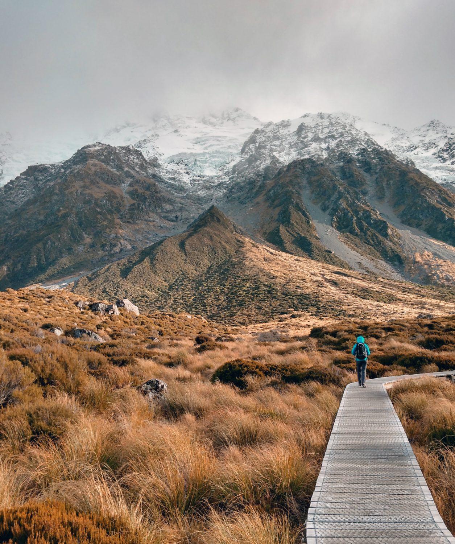 Hooker Valley Track, Mount Cook National Park, New Zealand