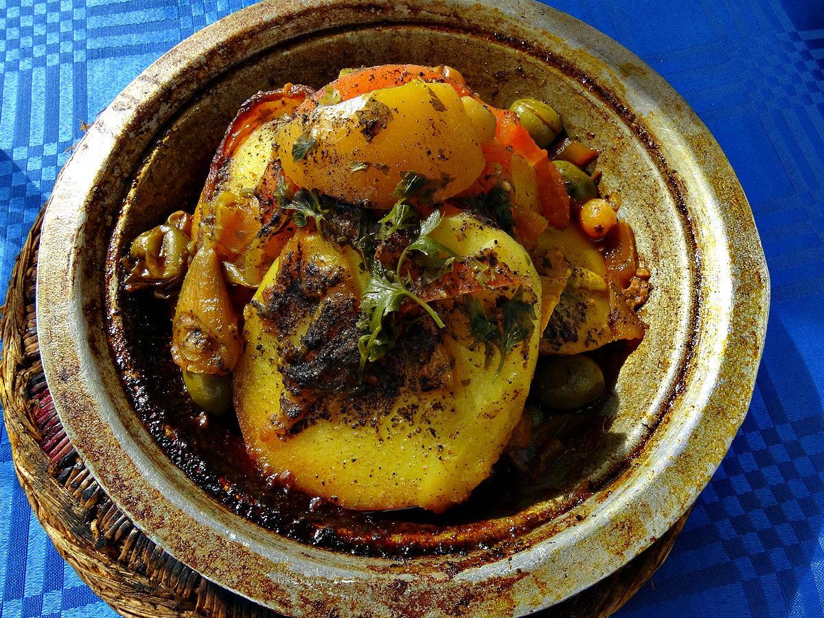 Tajine, A Traditional Moroccan Dish