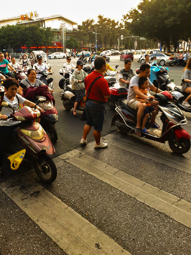 Motorbikes In Asia