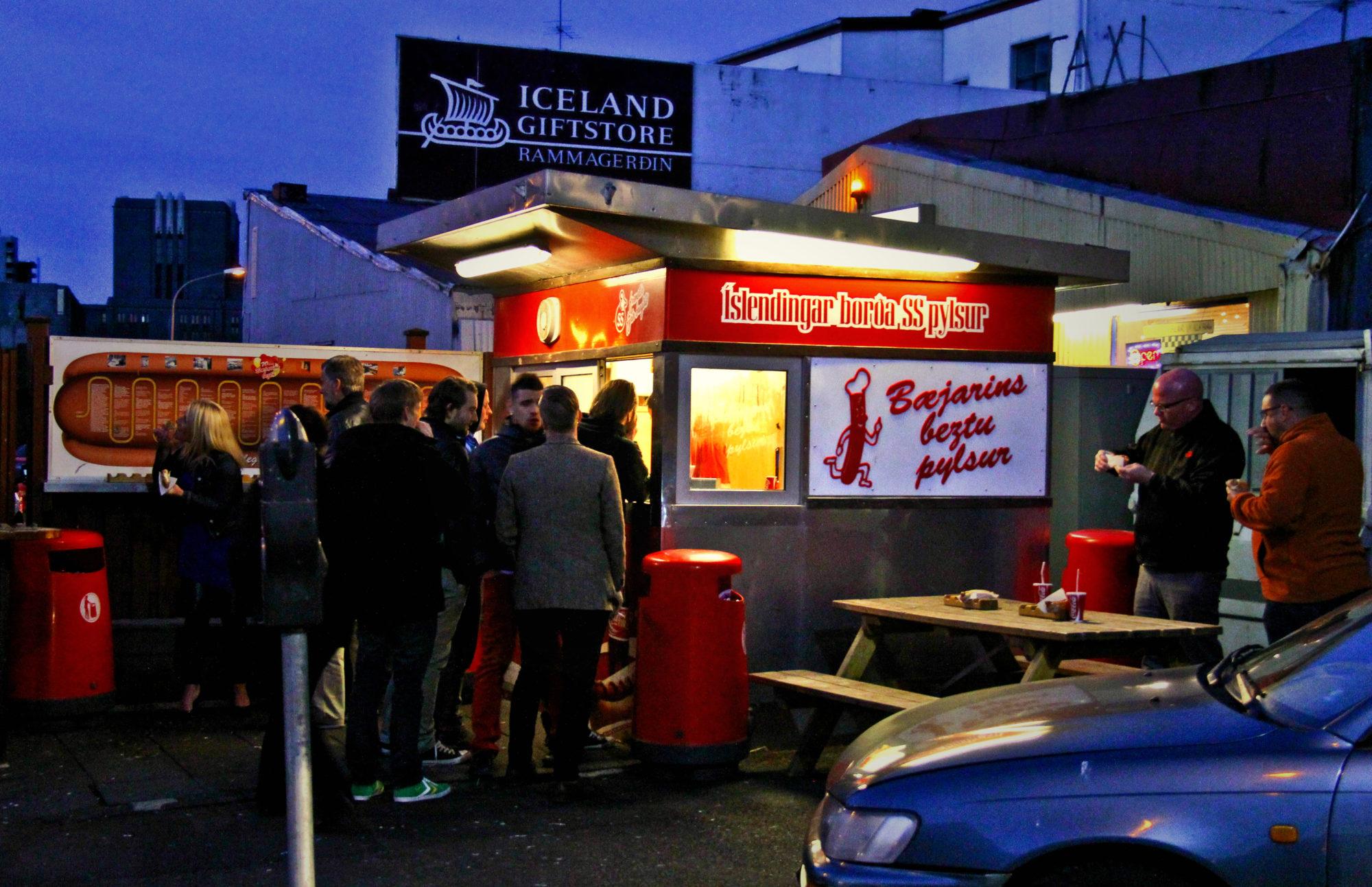 Hot Dog Stand, Reykjavik