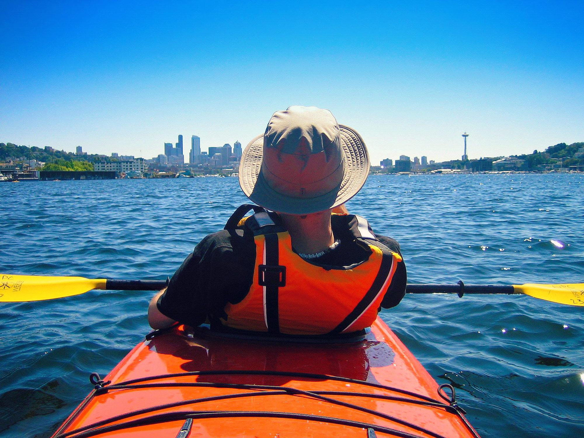 Recreational Kayaking in Seattle