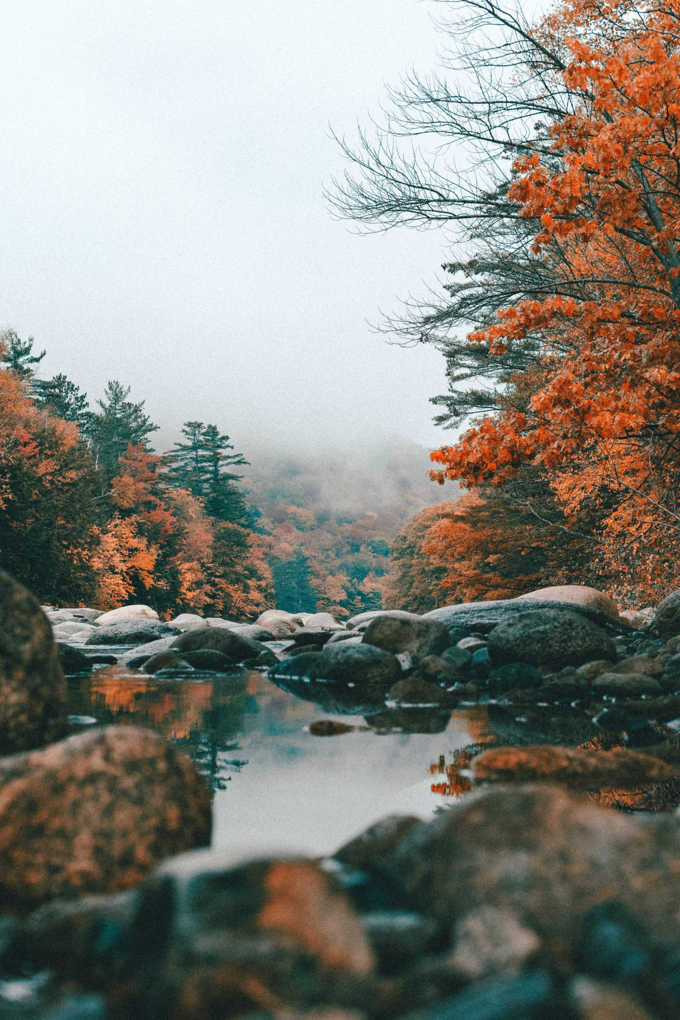 New England in Fall