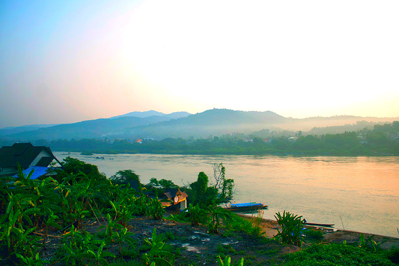 Taking the Slow Boat in Laos