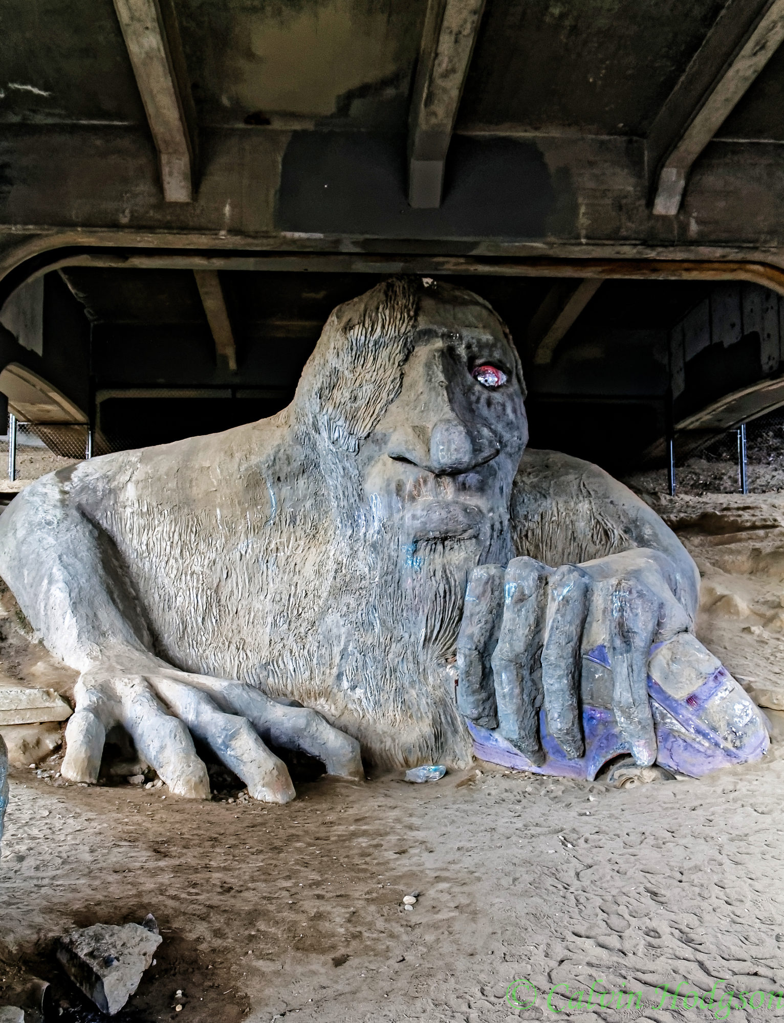Fremont Troll in Seattle