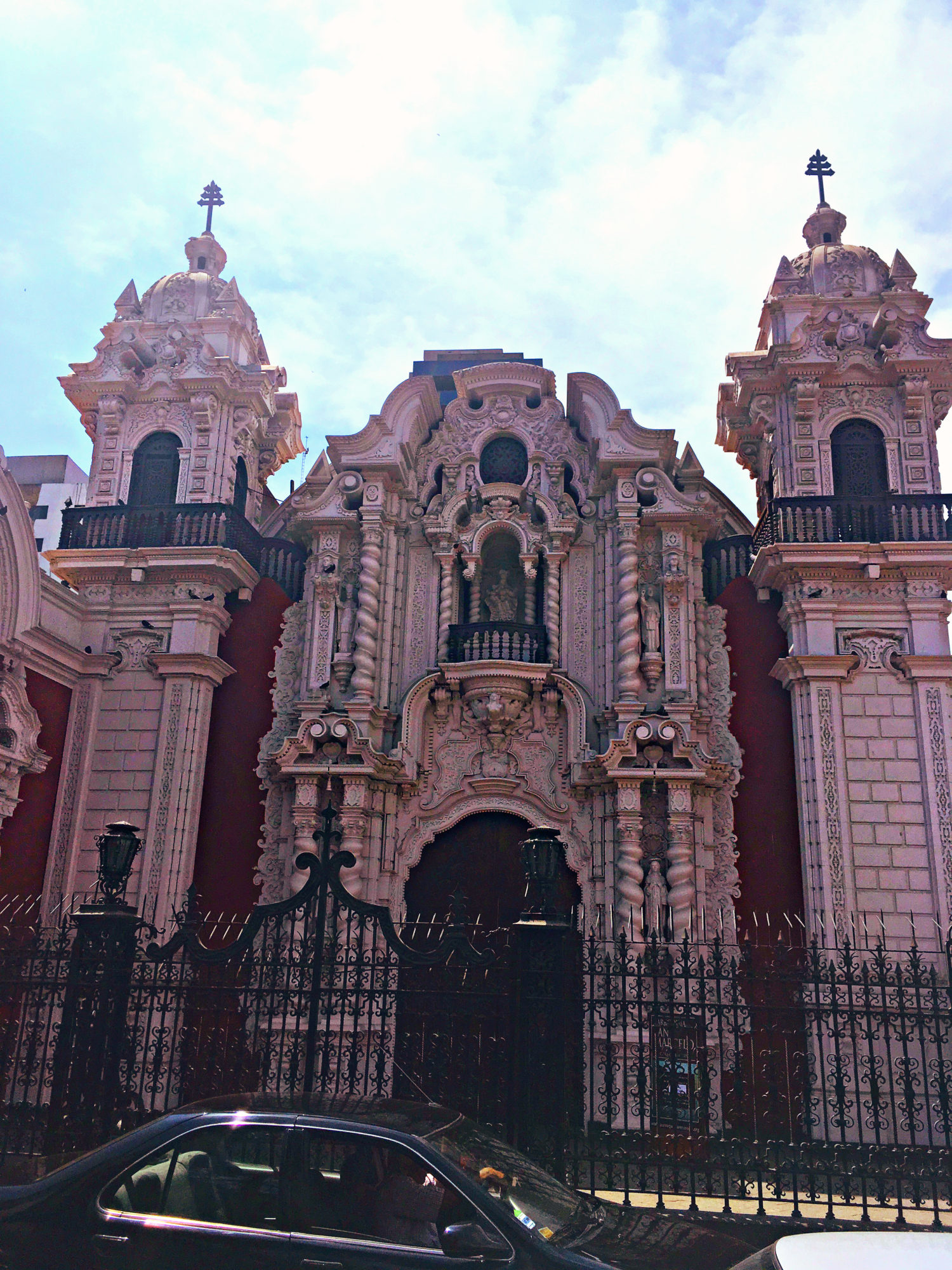 Lima, Peru Colonial Architecture