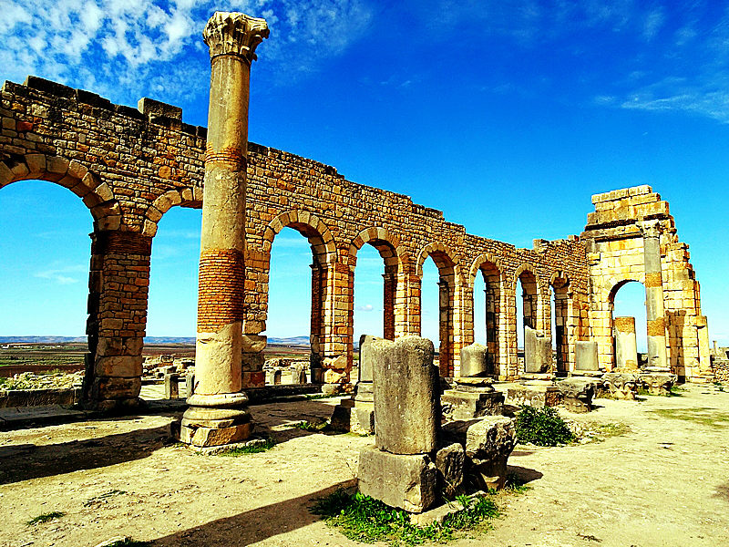 Volubilis, The Desert Sand Dunes, Marrakesh, Top Sights In Morocco You Need To See