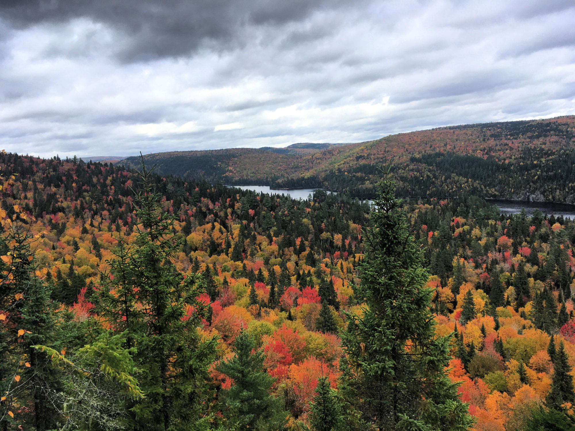 Saguenay, Québec Fall Colors