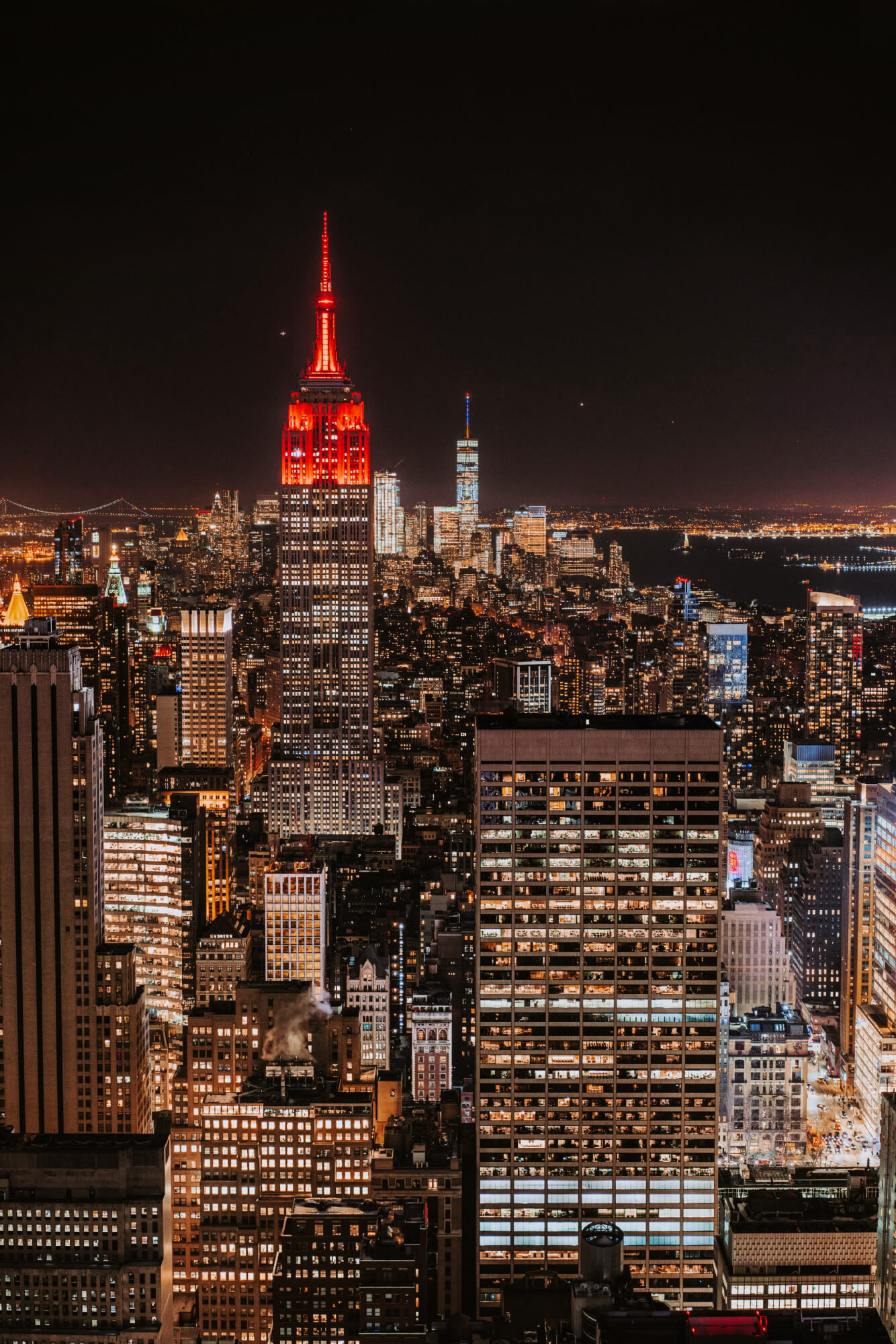Rooftop View in New York