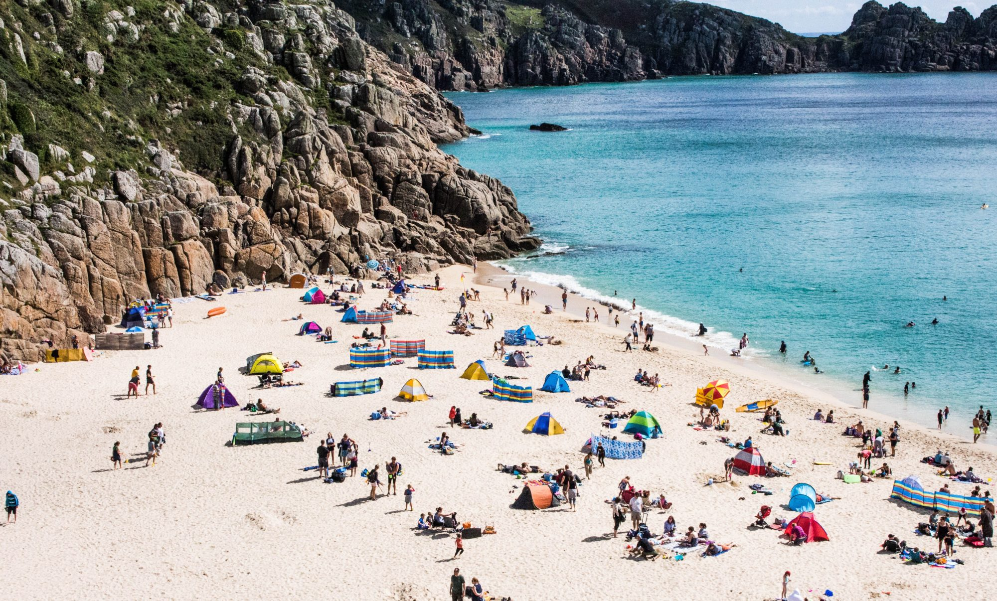 Porthcurno Beach, Porthcurno, United Kingdom