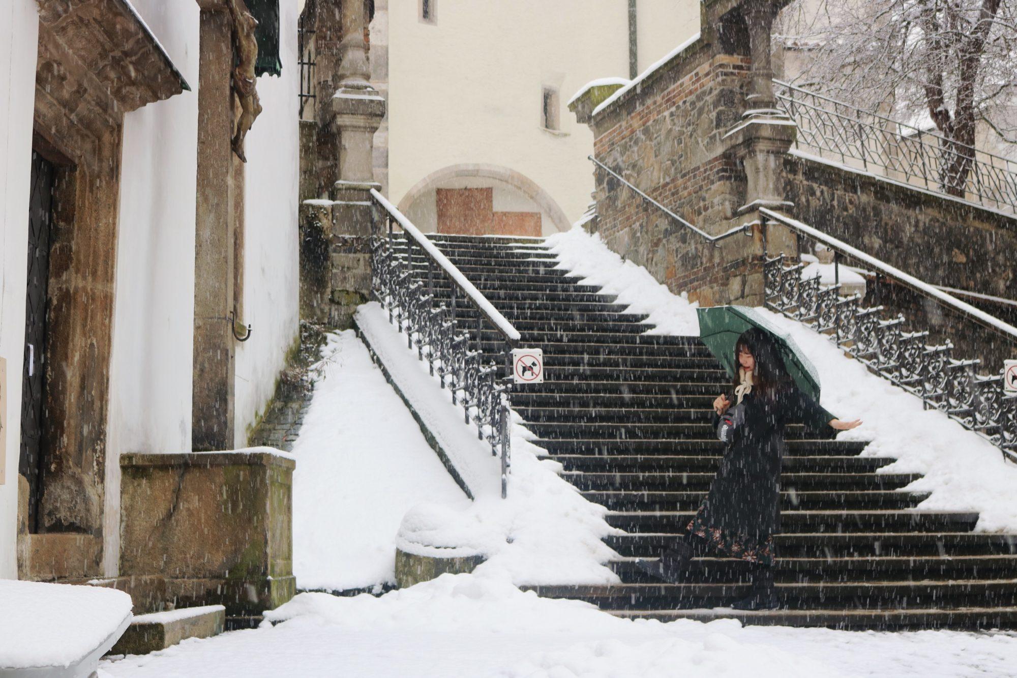Český Krumlov, Winter Wonderlands To Visit