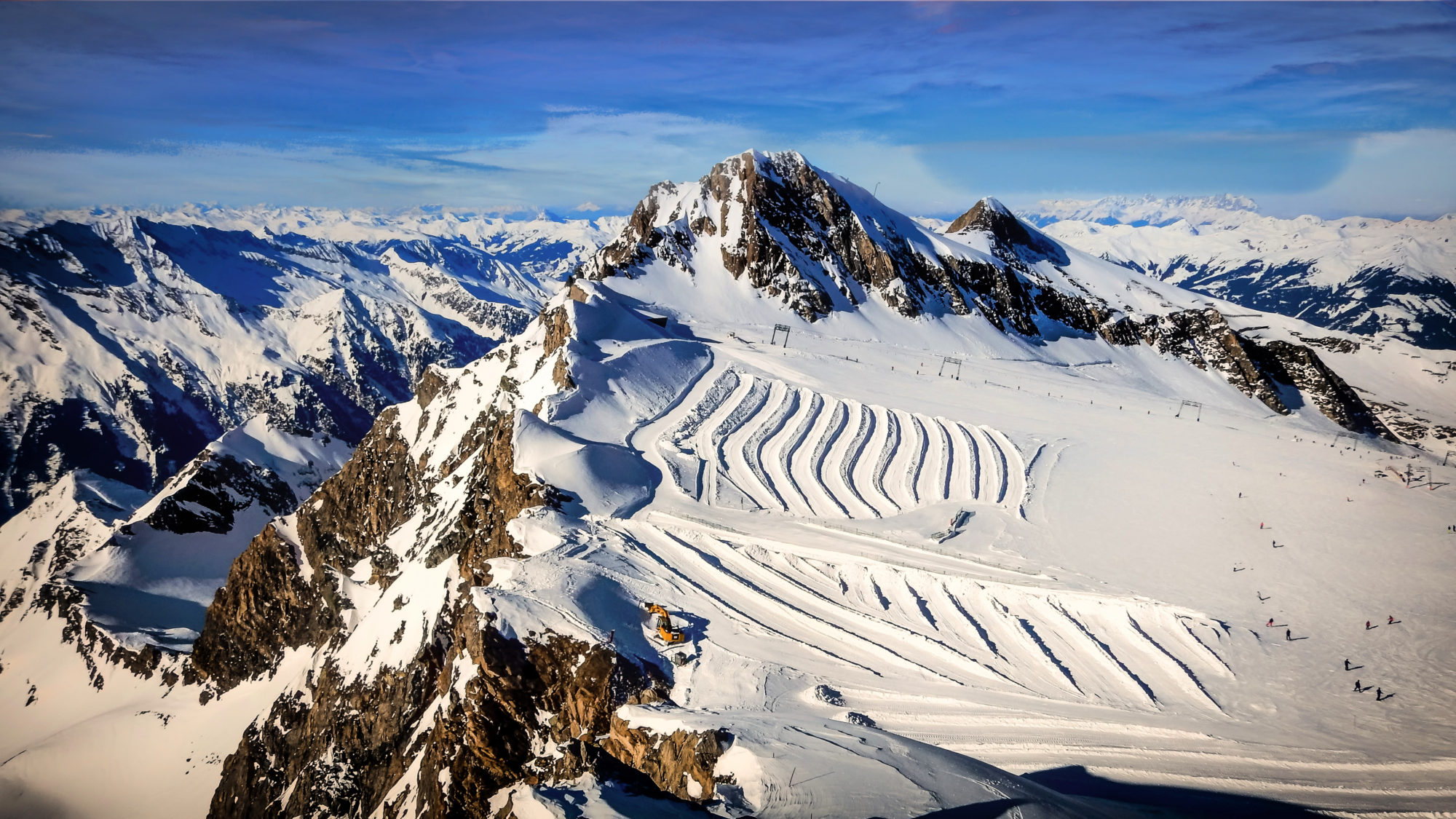 Kitzsteinhorn, best ski resorts in Austria
