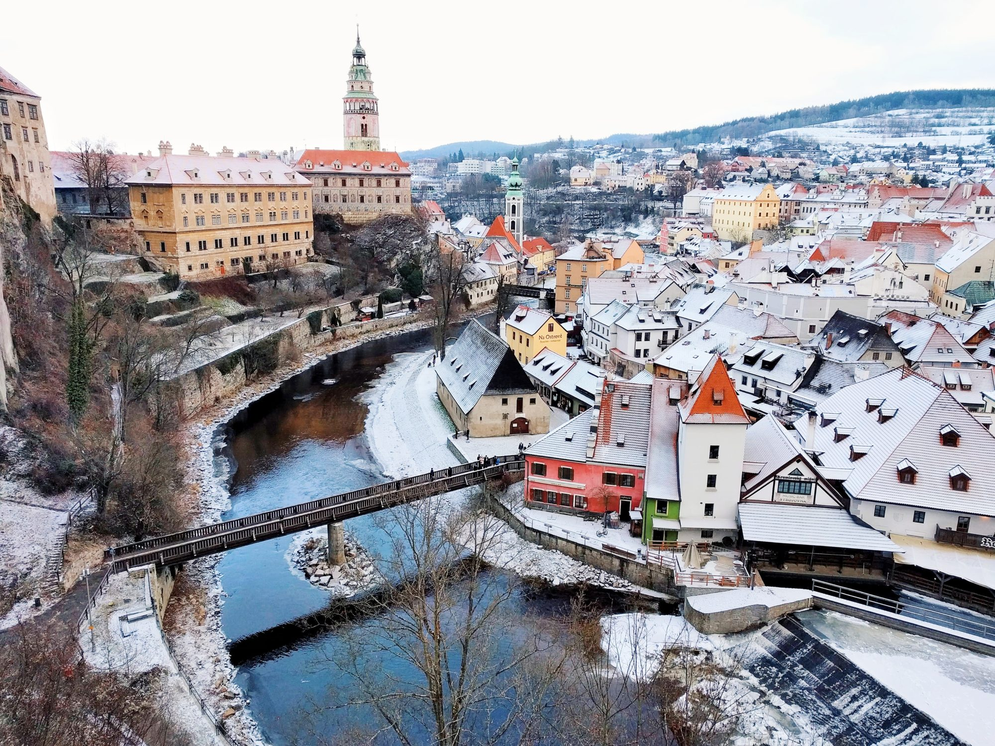 Cesky Krumlov, Best Mountain Towns In Europe