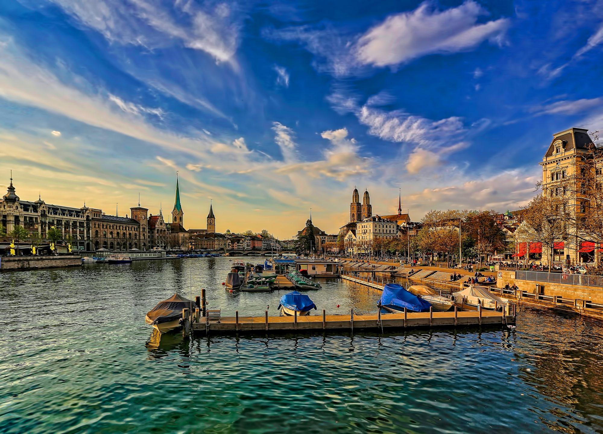 Zurich, Best Mountain Towns In Europe