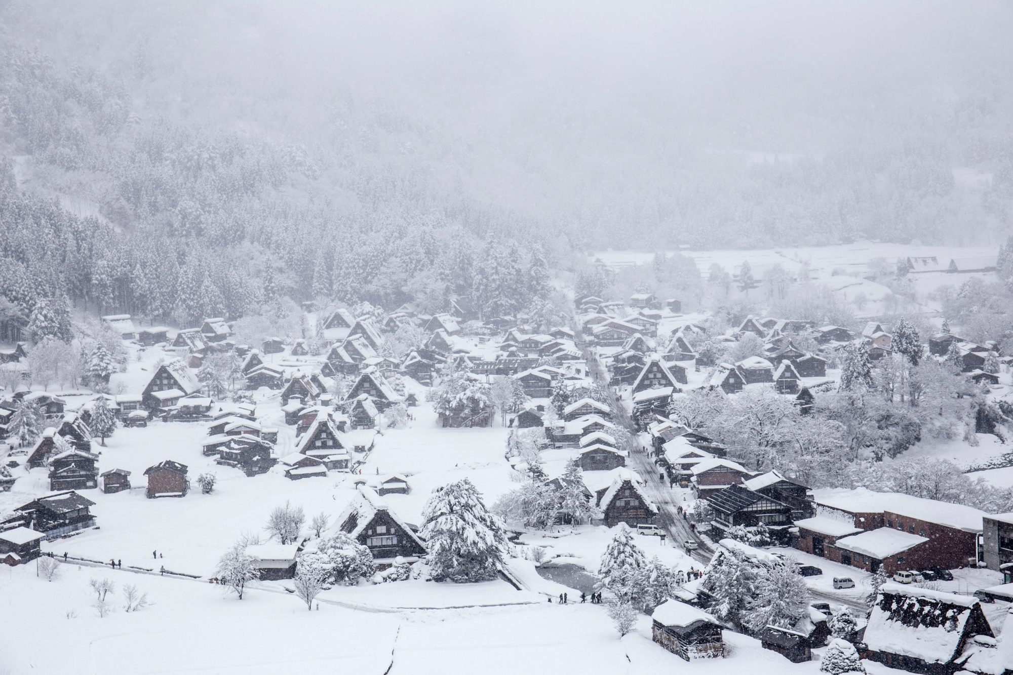 Shirakawa-go, Winter Wonderlands To Visit