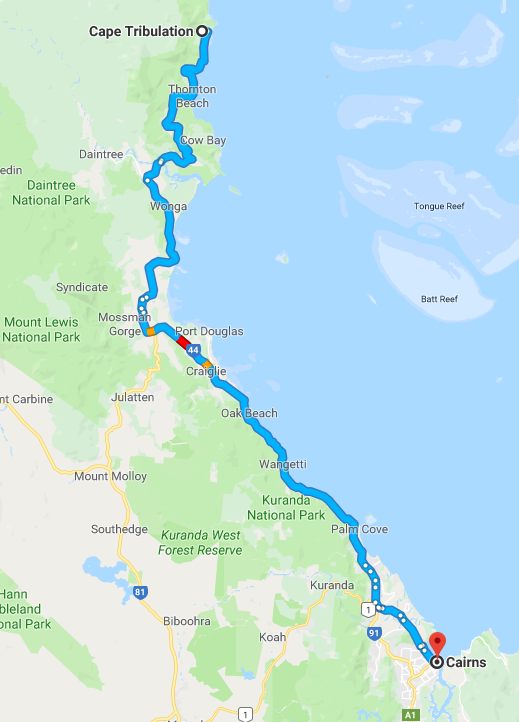 Cairns Road Trip