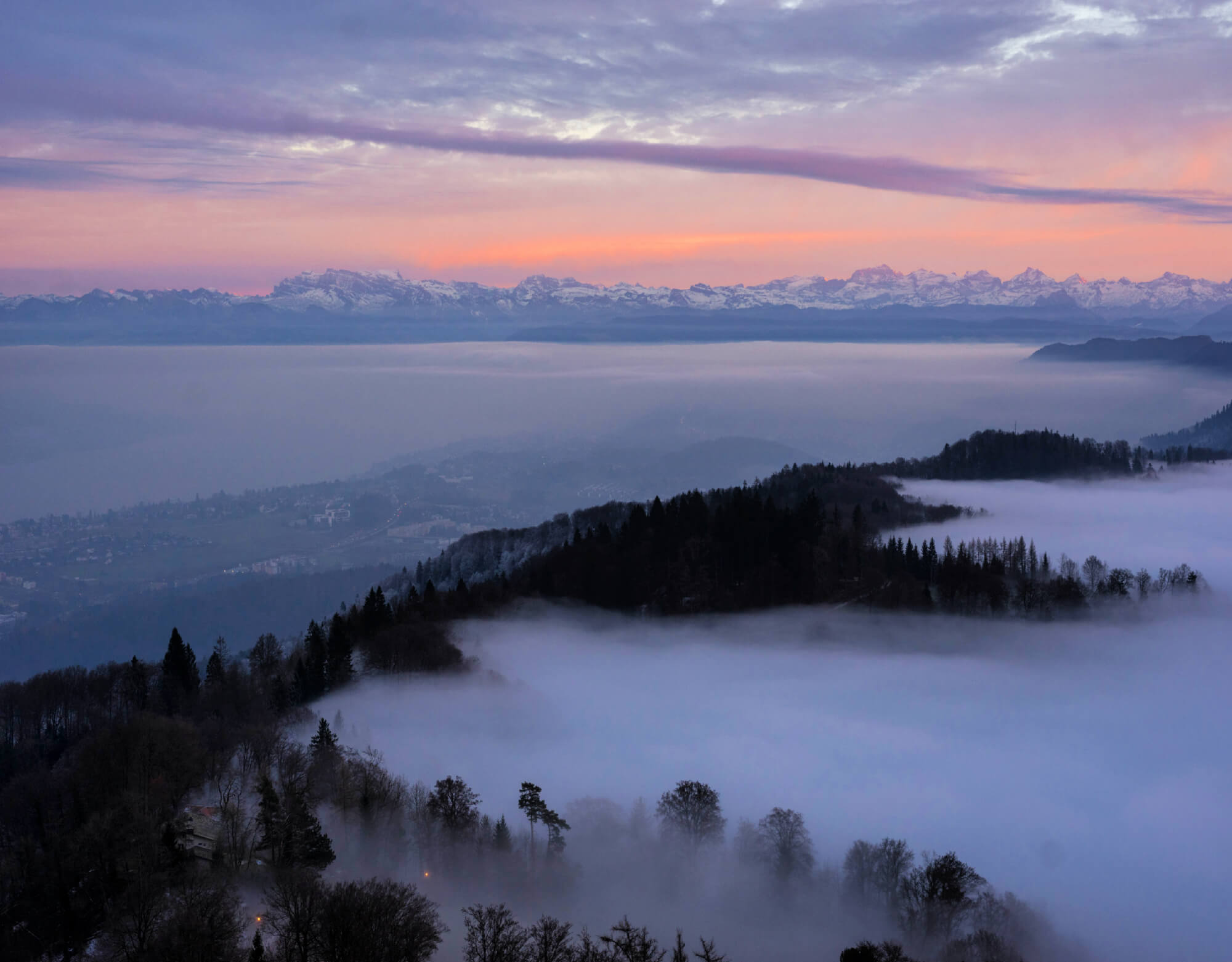 Uetliberg is one of the best places to visit in Zürich.
