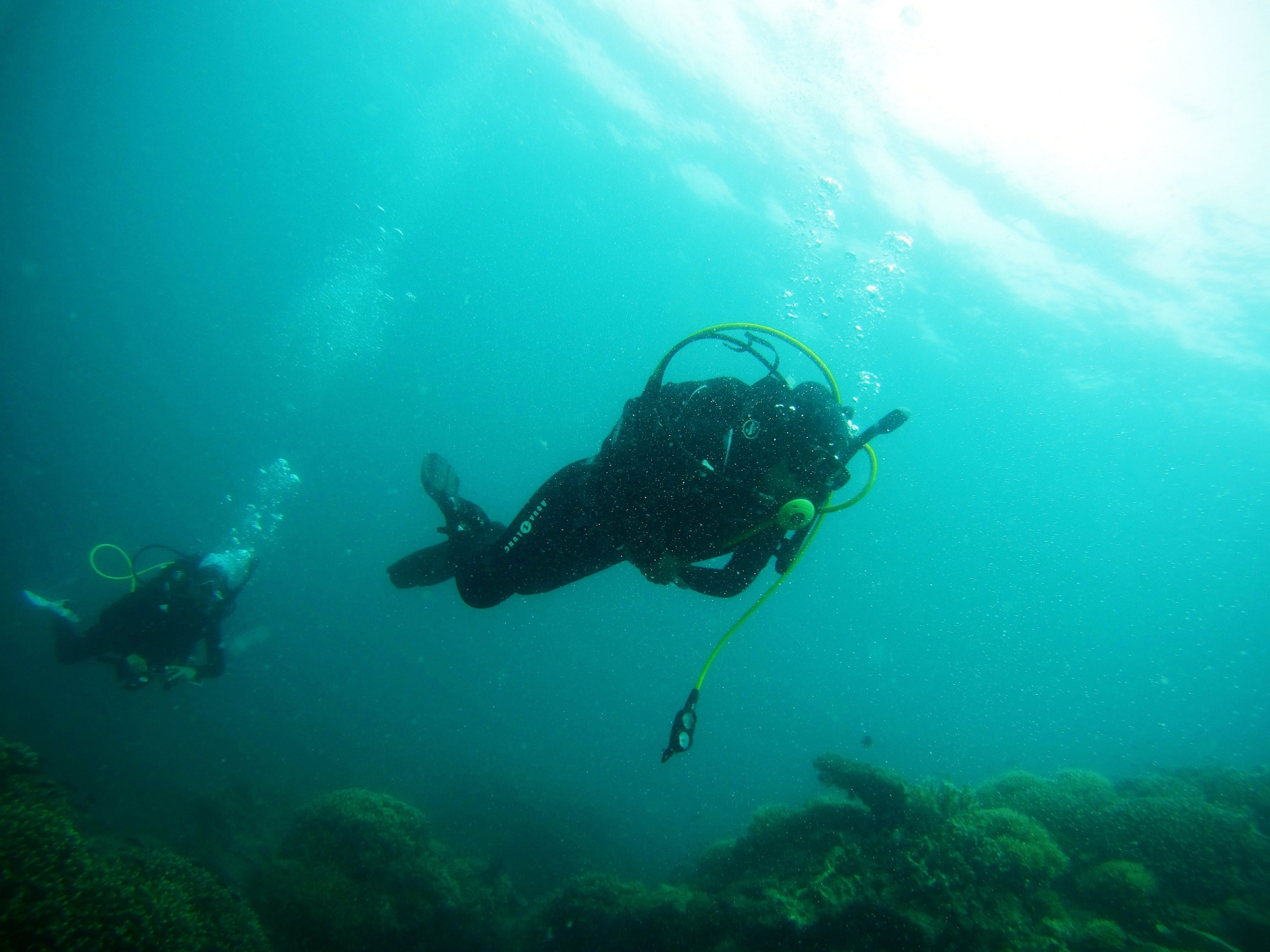 Diving in the Thai Islands