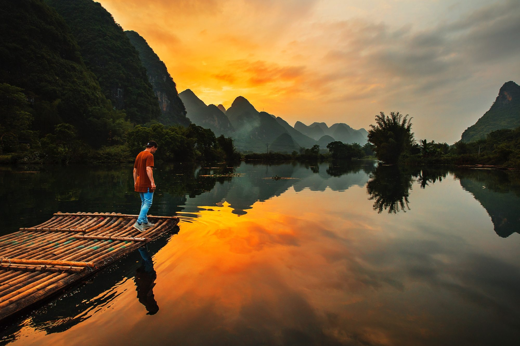 Yulong River, Guilin, China
