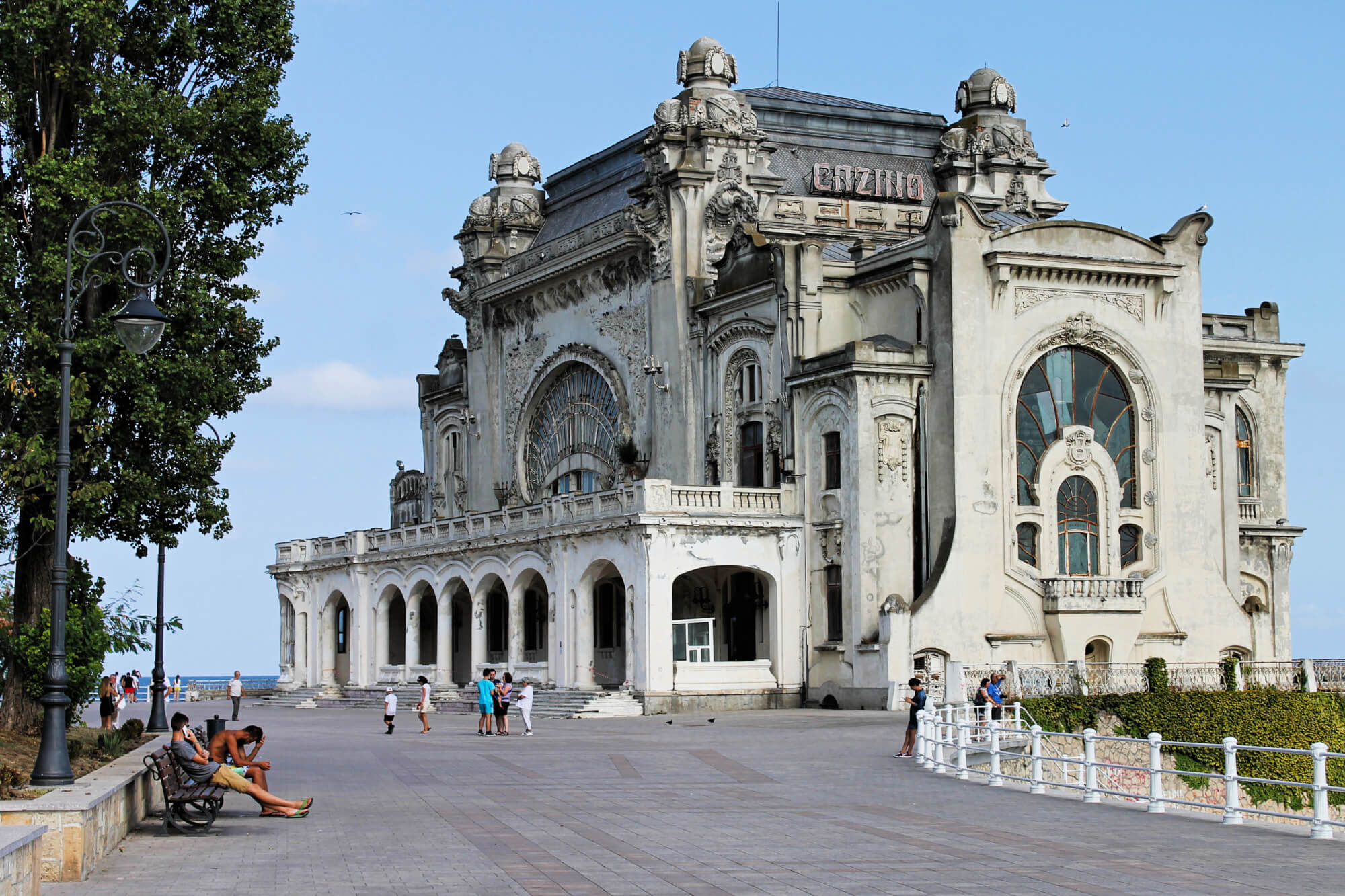 The Constanta Casino, Romania