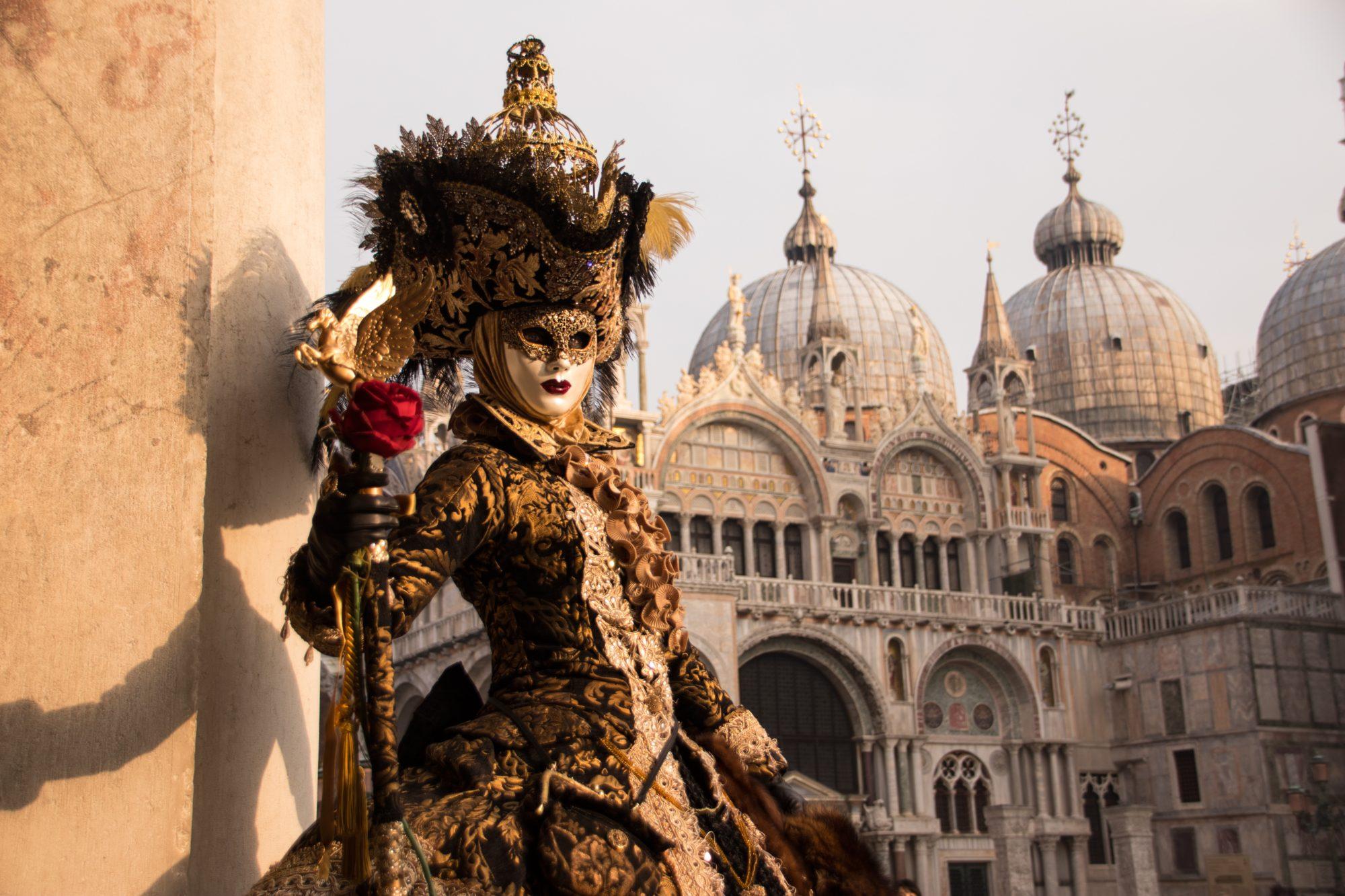 Festival in Venice, Italy