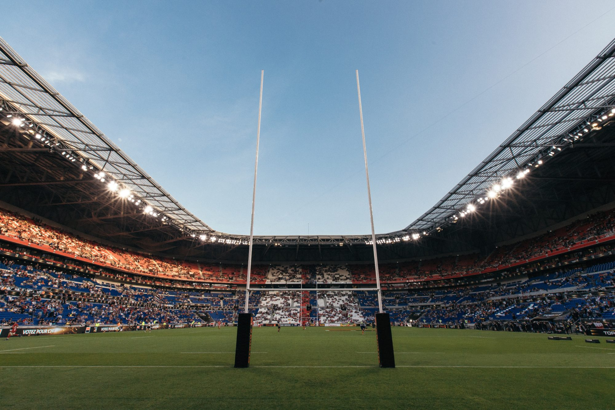 Rugby in Lyon, France