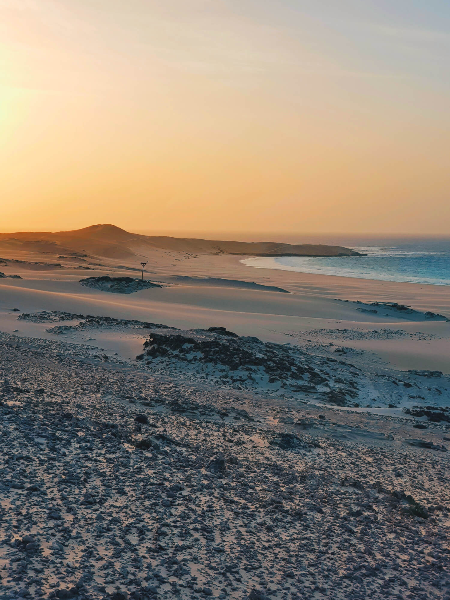 Sunset on Boa Vista, Cape Verde