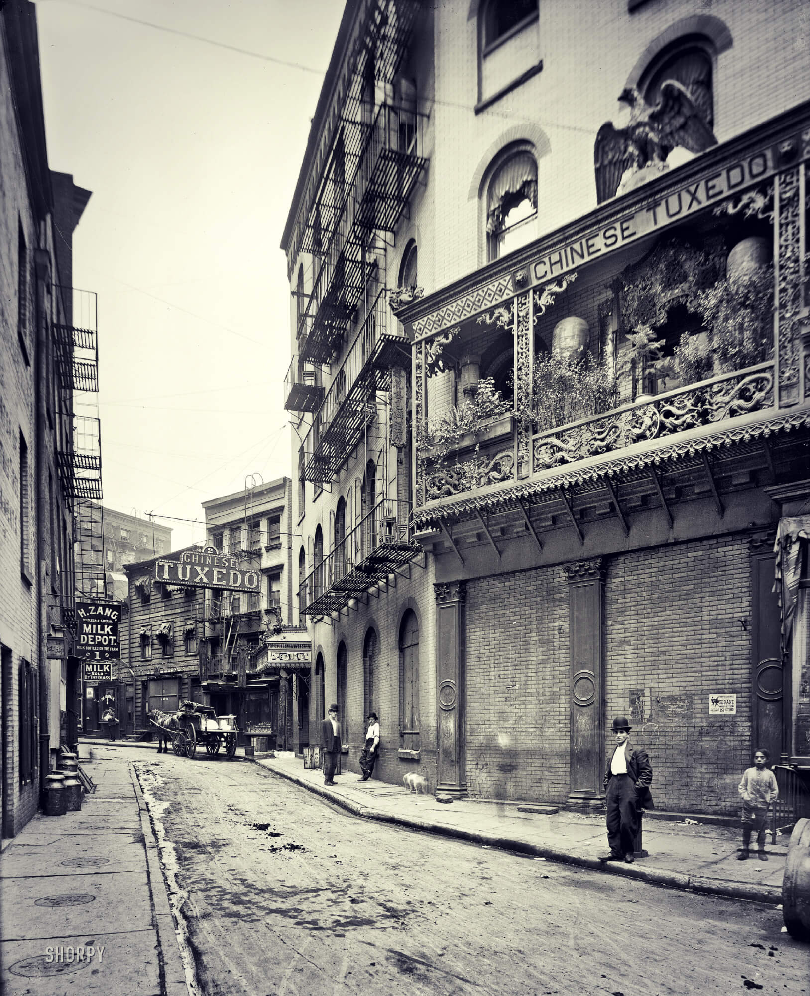 Doyers Street In 1901
