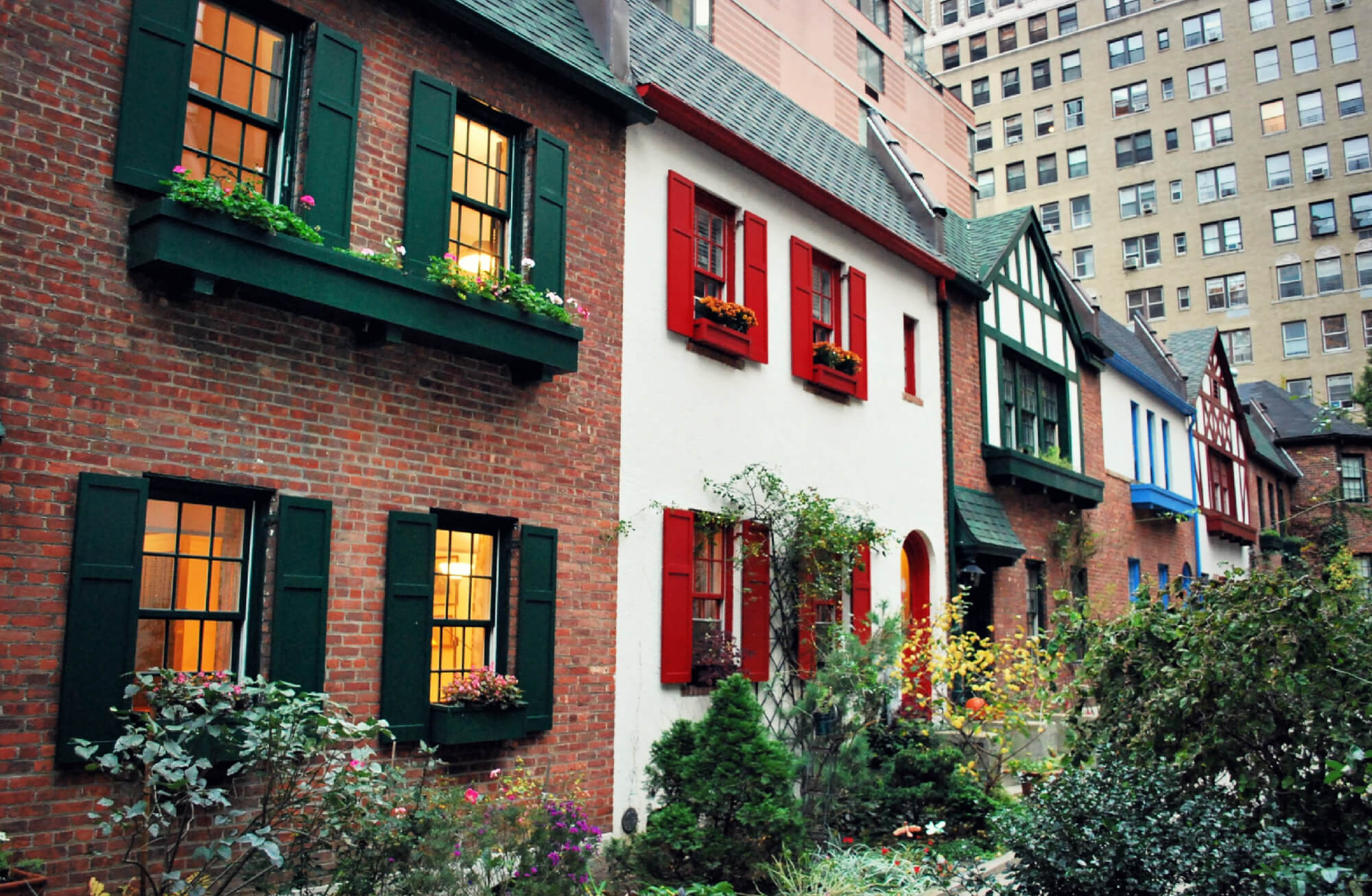 Pomander Walk Is One Of The Secret Sights In New York