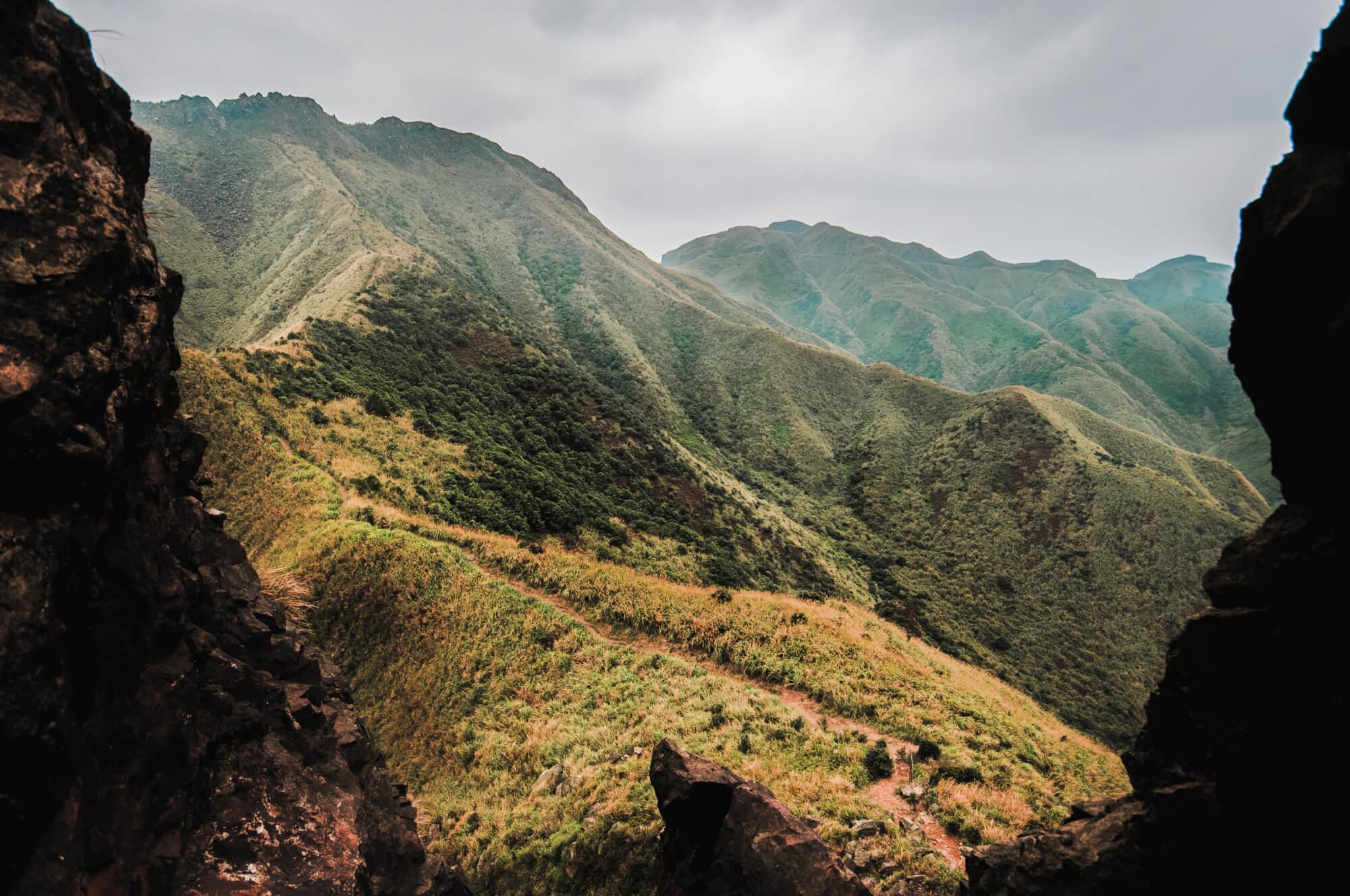 Teapot Mountain In Jinguashi